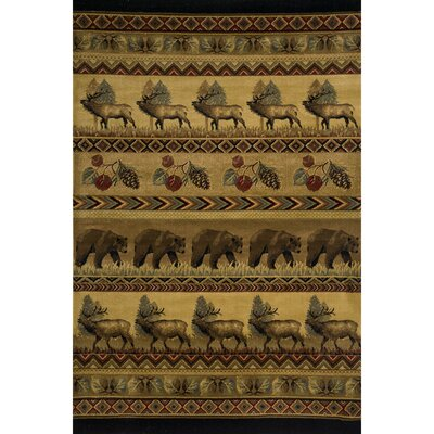 Beckfield Brown Area Rug