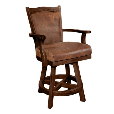 Goldfield 24 Swivel Bar Stool