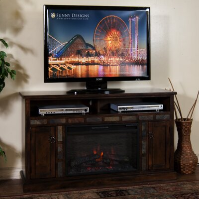 Goldfield TV Stand with Electric Fireplace