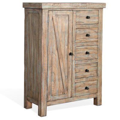 Herman 5 Drawer Gentlemans Chest