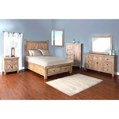 Herman 6 Drawer Standard Dresser