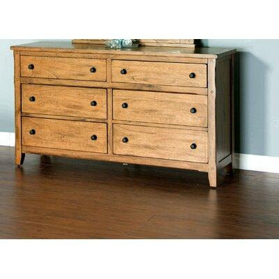 Framingham 6 Drawer Standard Dresser