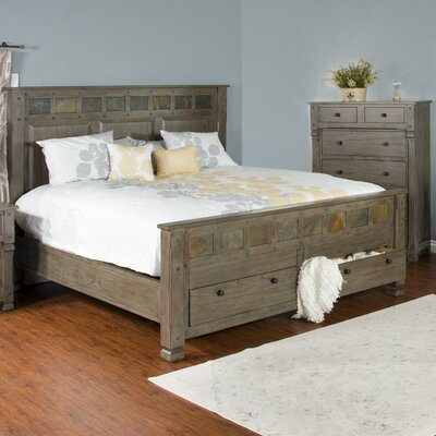 Packard Storage Platform Bed Size: King