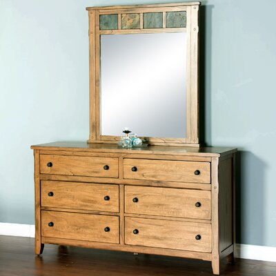 Framingham 6 Drawer Dresser with Mirror
