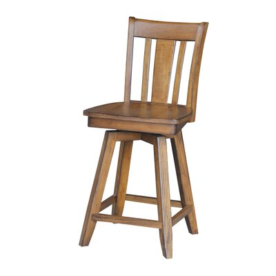 Russell 24 inch Swivel Bar Stool