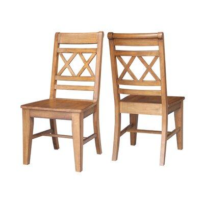 San Jose Side Chair Finish: Pecan