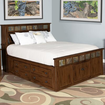 Goldfield Storage Panel Bed Size: Queen