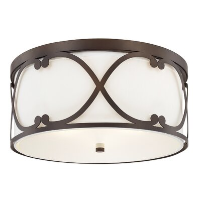 Pueblo 3-Lighting Flush Mount Finish: Burnished Bronze