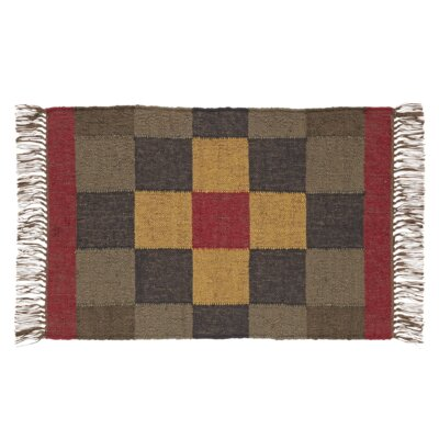 Redvale Area Rug Rug Size: 2' x 4'