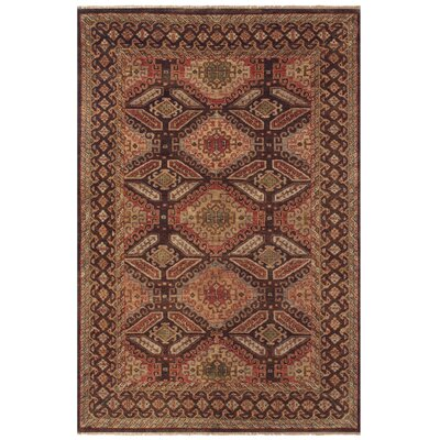 Keely Brown Area Rug Rug Size: Rectangle 2 x 3