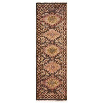 Keely Brown Area Rug Rug Size: Runner 26 x 8