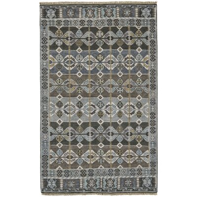 Williamsburg Steel Area Rug Rug Size: 79 x 99