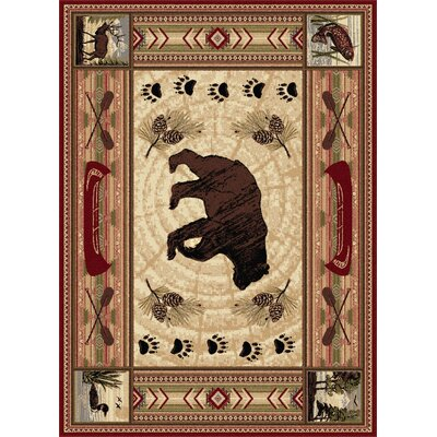 North La Junta Red Area Rug