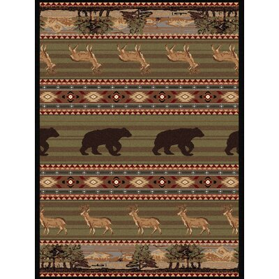Gerrard Green Area Rug