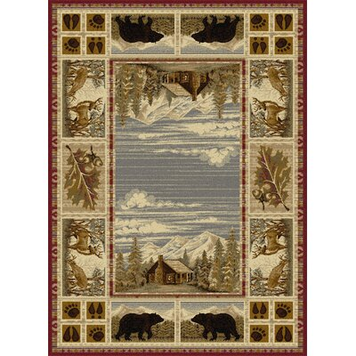Catoosa Red Area Rug