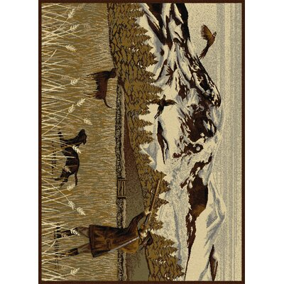 Blackwell Brown Area Rug
