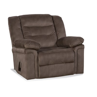 Serta Upholstery Centrahoma Recliner Upholstery: Tombstone Tobacco
