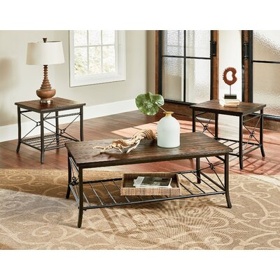 Hodgdon 3 Piece Coffee Table Set