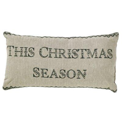Timberland 2 Piece Christmas Cotton Lumbar Pillow Set