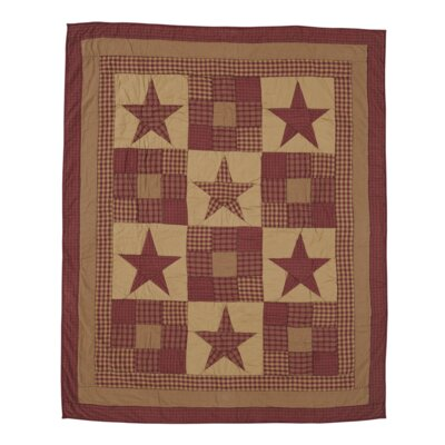 Silverthorne Quilted Cotton Throw