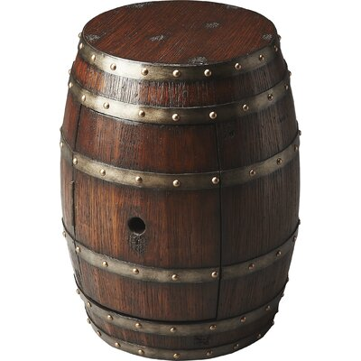 El Moro Barrel End Table