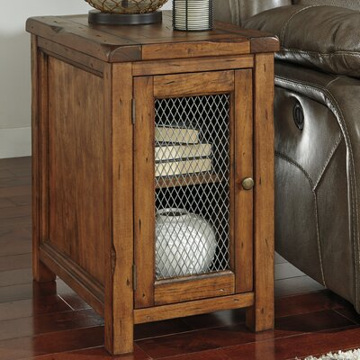 Clayton End Table With Storage
