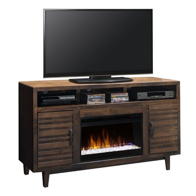 Calmar TV Stand with Electric Fireplace