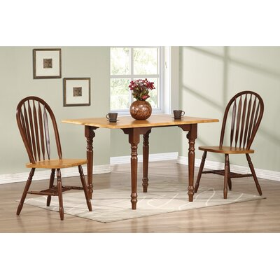 Copernicus 3 Piece Drop Leaf Dining Set