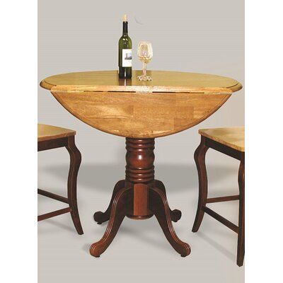 Copernicus Pub Table Finish: Nutmeg Light Oak