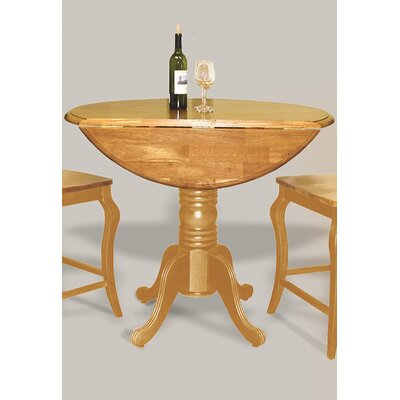Copernicus Pub Table Finish: Light Oak