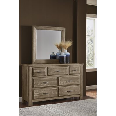 Fairfield 7 Drawer Dresser with Mirror