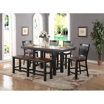 Manassa 6 Piece Dining Set
