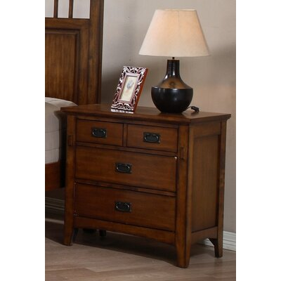 Elgin 4 Drawer Bachelors Chest