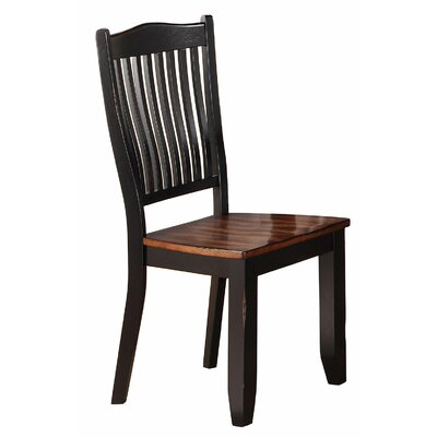 Manassa Solid Wood Dining Chair (Set of 2)