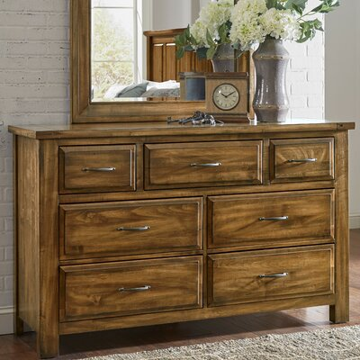 Fairfield 7 Drawer Dresser Finish: Antique Amish