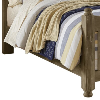 Fairfield Storage Bed Side Rails Finish: Weathered Gray