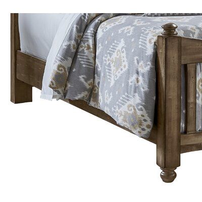 Fairfield Storage Bed Side Rails Finish: Maple Syrup