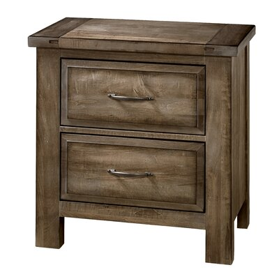 Fairfield 2 Drawer Nightstand Color: Maple Syrup
