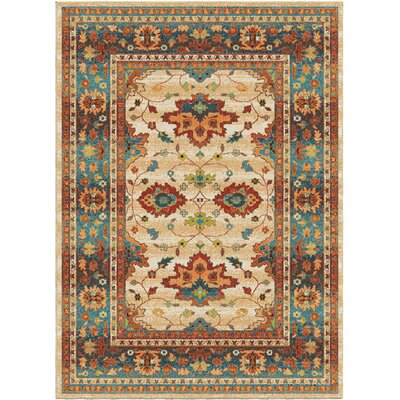 Canyonwood Brown/Red Area Rug Rug Size: 710 x 1010