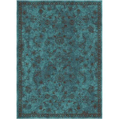 Canyonwood Blue Area Rug Rug Size: 710 x 1010
