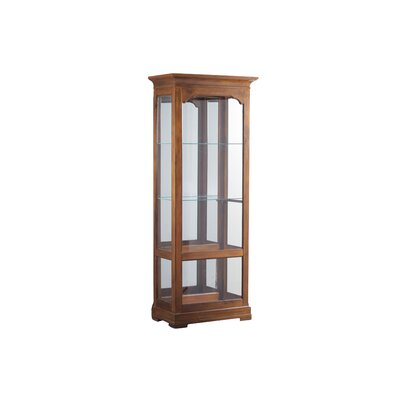 Canola Lighted Curio Cabinet