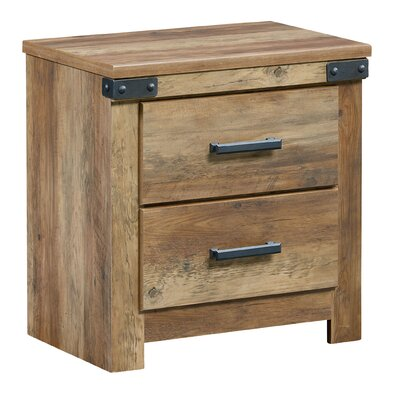 Bilbo 2 Drawer Nightstand
