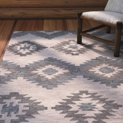Harrison Hand-Tufted Ivory Area Rug Size: Runner 26 x 8