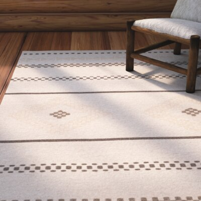 Febbas Hand-Woven Area Rug Rug Size: Rectangle 3 x 5