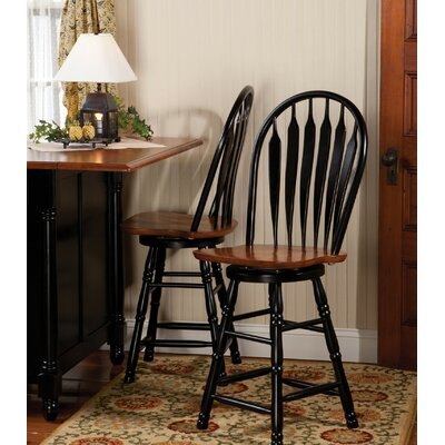 Banksville 24 Swivel Bar Stool