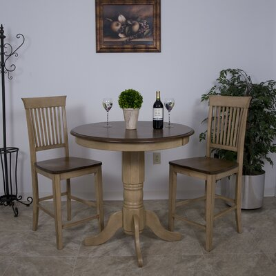 Huerfano Valley 3 Piece Pub Table Set