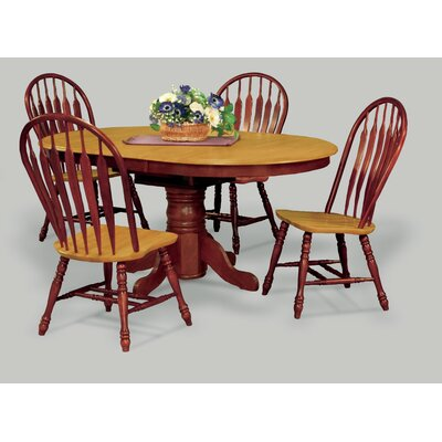 Banksville Dining Table Finish: Nutmeg Light Oak