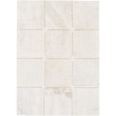 Olancha White Area Rug Rug Size: Rectangle 2 x 3