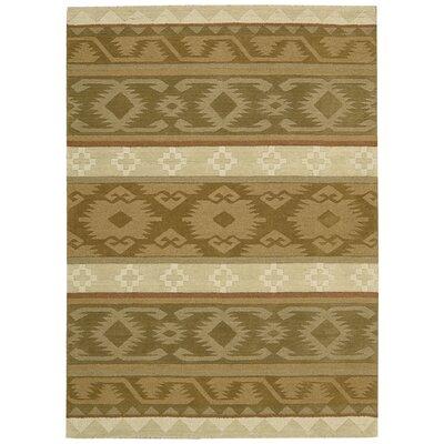 Atna Hand-Tufted Camel Area Rug Rug Size: 8 x 106
