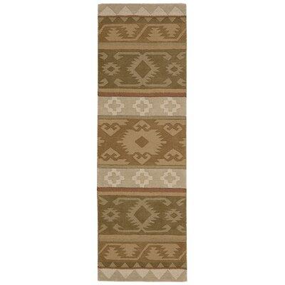 Atna Hand-Tufted Camel Area Rug Rug Size: Runner 23 x 76
